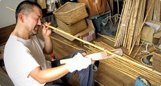 川口和竿 伝統工芸士