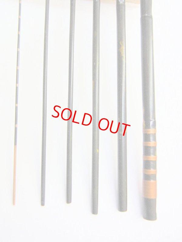 画像2: 感謝価格!会員価格50%OFF タナゴ和竿 矢竹 6本継ぎ 真竹削り穂 濃緑変わり塗り仕上げ