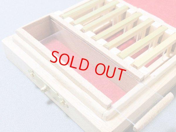 画像4: ポン太工房制作 オリジナル仕掛け箱 スライド小物入れ付き 無塗装