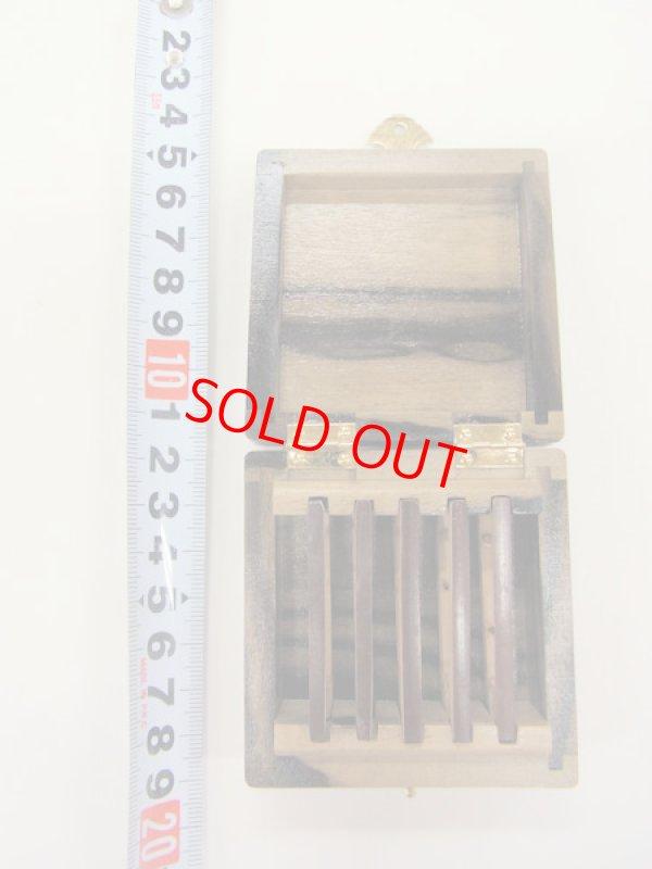 画像4: 感謝価格!30%引き 総黒柿材使用 仕掛け入れ  煤竹仕掛け巻き5本入り