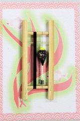 19春モデル ポン太工房 中通し仕掛け(すぐ釣りセット):トップ蛍光黄×紫マーブル