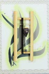 19春モデル ポン太工房 中通し仕掛け(すぐ釣りセット):トップ白×紫マーブル
