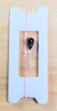 画像1: 新作ポン太工房超軽量オリジナルプロペラ超高感度極小中通し浮きタナゴ仕掛け  蛍光オレンジ×黒系グラデーション モノスレッドSブラウン (1)