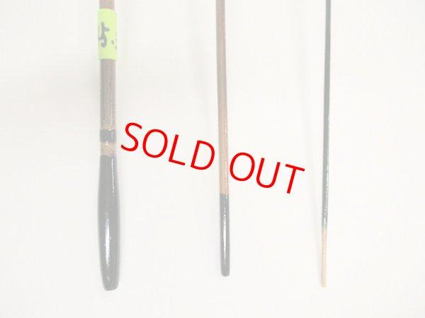 画像3: 感謝価格!オリジナルタナゴ竿 矢竹 本漆 3本継 真竹削り穂 全長約45,3センチ