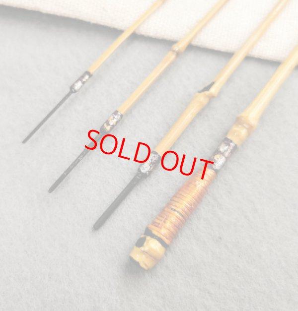 画像3: ポン太工房 オリジナル和竿 布袋竹4本継 全長47、7センチ