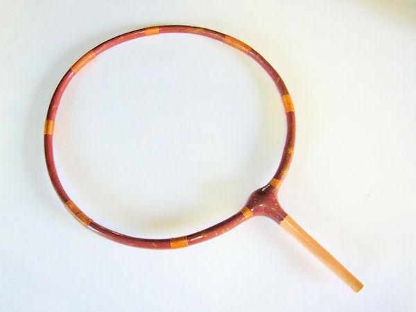 画像1: ヘラ用たも枠(天然木使用)