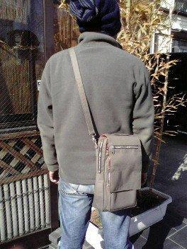 画像1: 数量限定!感謝価格!竿昭作 タナゴ鞄