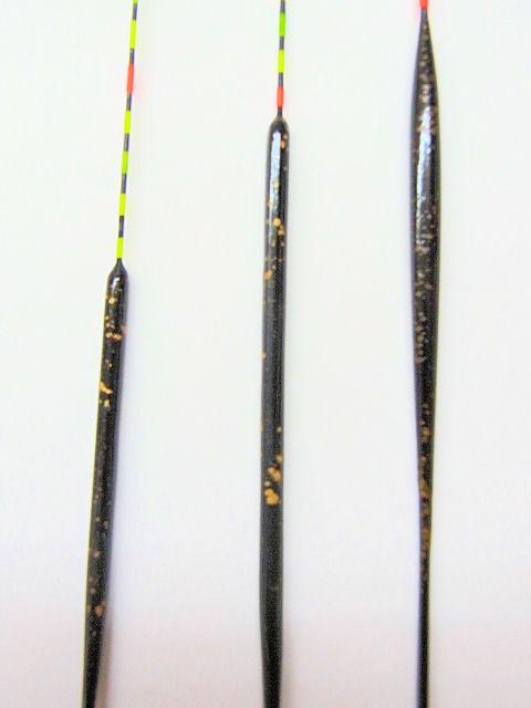 画像2: 特売ヘラ浮き3本セット(黒金色)