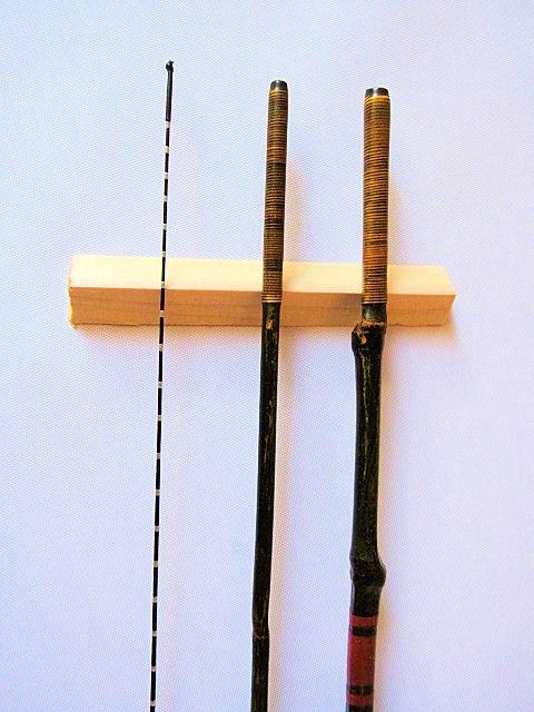 画像4: タナゴ、小鮒用和竿(布袋竹、矢竹)