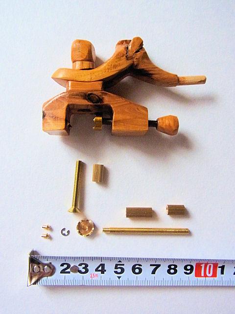 画像2: オリジナル タナゴ万力用金具セット