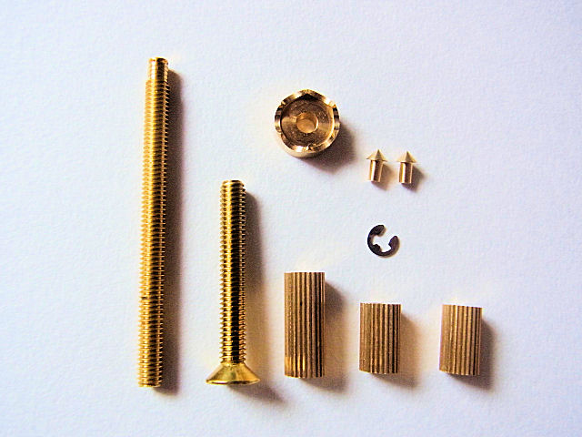 画像1: オリジナル タナゴ万力用金具セット