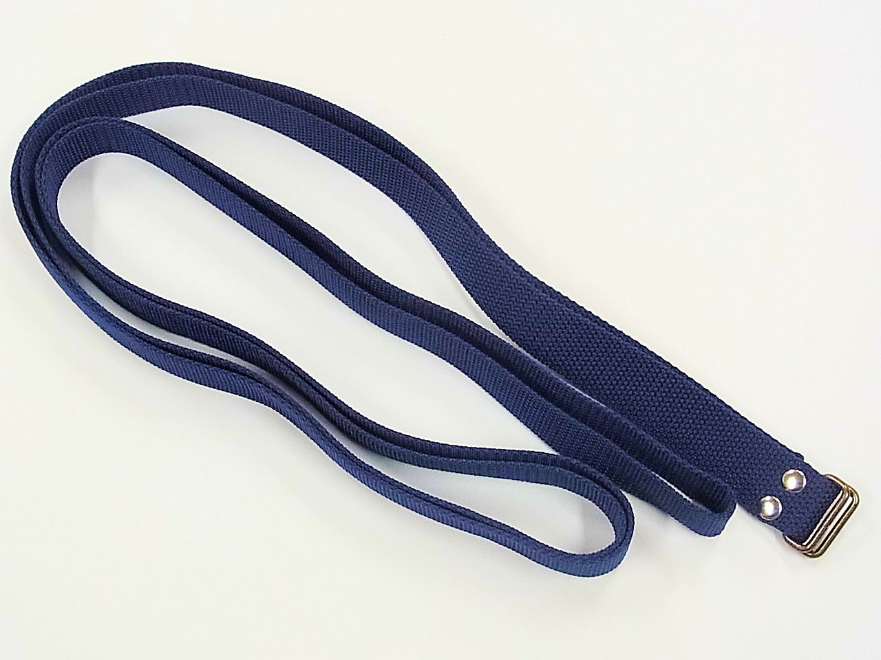 画像1: 手作り 水箱、合切箱専用ベルトセット ロングタイプ 紺色