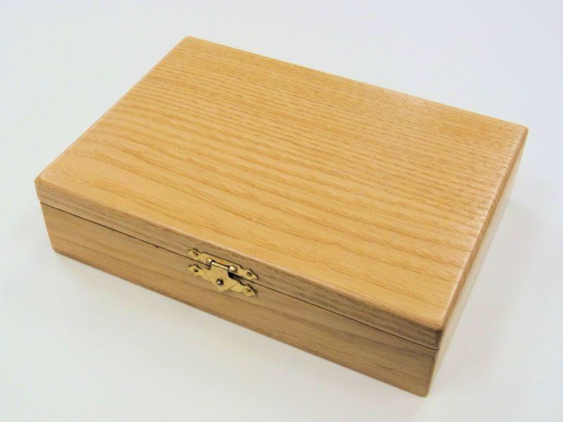 画像1: 栗材使用 仕掛け小物入れ 大 片面自在間仕切り 栗製仕掛け巻き大10個付き
