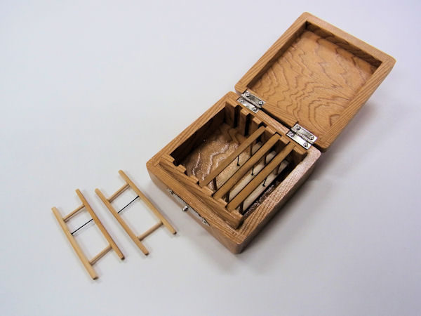 画像3: 総屋久杉材使用 仕掛け入れ 紋竹仕掛け巻き5本入り