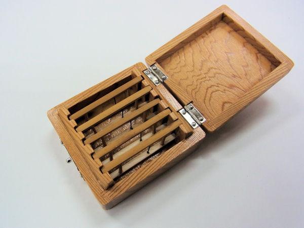 画像2: 総屋久杉材使用 仕掛け入れ 紋竹仕掛け巻き5本入り