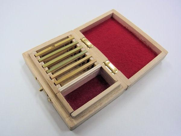 画像2: ポン太工房制作 新作オリジナル仕掛け箱 スライド小物入れ付き 無塗装