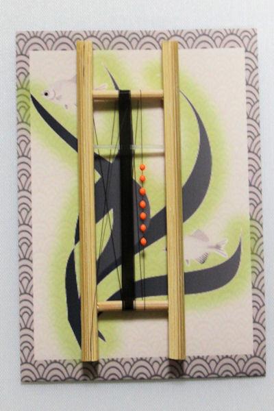 画像1: ポン太工房制作 W&Rシモリ仕掛け  蛍光オレンジ 0,3号 3メートル