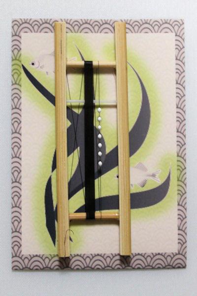 画像1: ポン太工房制作 W&Rシモリ仕掛け  スーパーホワイト 0,3号 3メートル