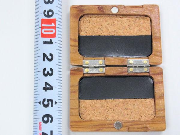 画像3: 職人手作り!高級屋久杉材使用 タナゴ用針ケース
