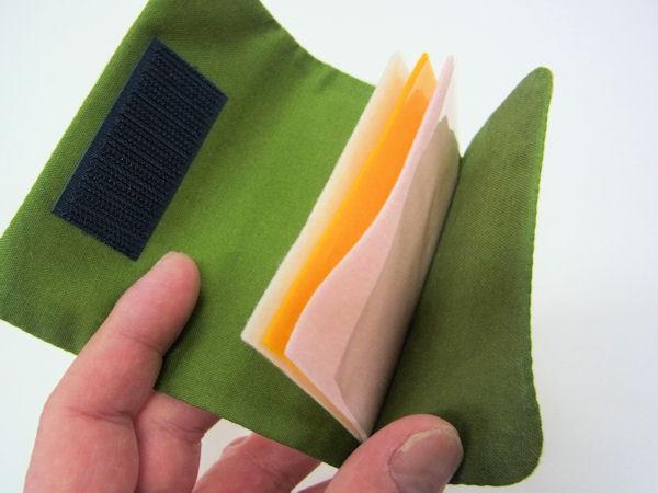 画像2: ベストフィッシングオリジナル 綿桜柄タナゴ用針ケース
