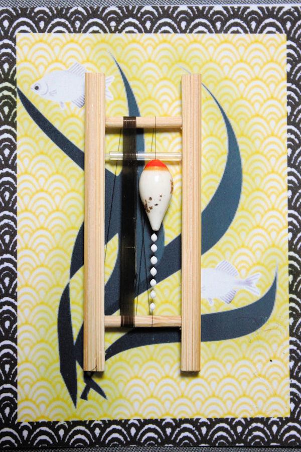画像1: ポン太工房 カネヒラ(新仔)用すぐ釣りセット シモリスーパーホワイト