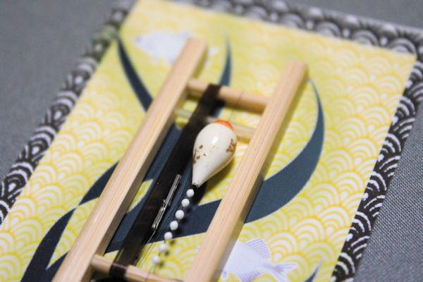 画像2: ポン太工房 カネヒラ(新仔)用すぐ釣りセット シモリスーパーホワイト