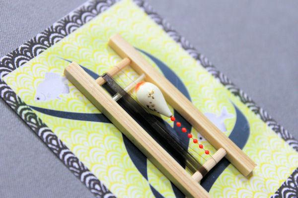 画像2: ポン太工房 カネヒラ(新仔)用すぐ釣りセット シモリ蛍光赤