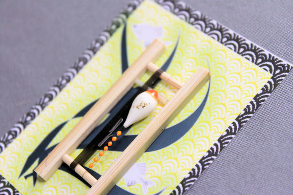 画像2: ポン太工房 カネヒラ(新仔)用すぐ釣りセット シモリ蛍光オレンジ
