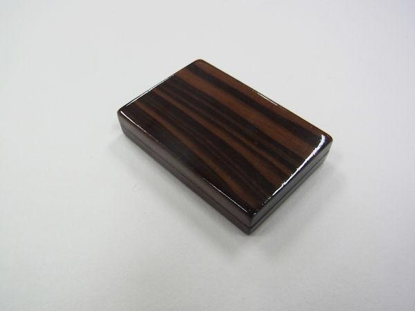 画像1: ベストフィッシングオリジナル 総黒檀材使用 タナゴ用針ケース