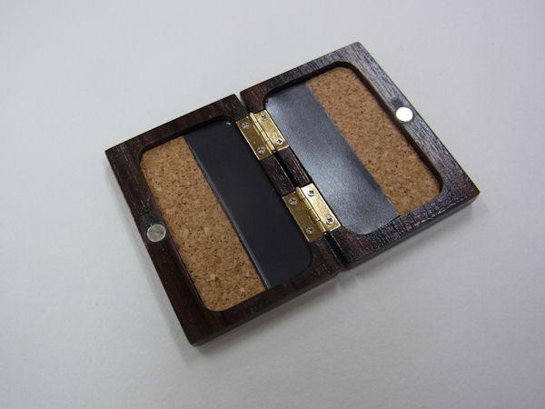 画像2: ベストフィッシングオリジナル 総黒檀材使用 タナゴ用針ケース