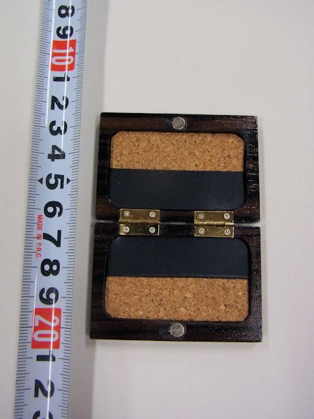 画像3: ベストフィッシングオリジナル 総黒檀材使用 タナゴ用針ケース
