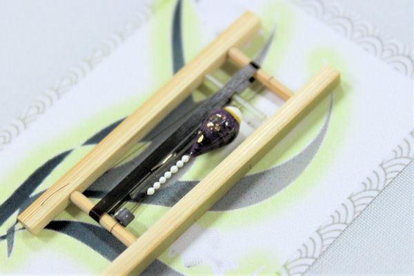 画像2: 19春モデル ポン太工房 中通し仕掛け(すぐ釣りセット):トップ白×紫マーブル