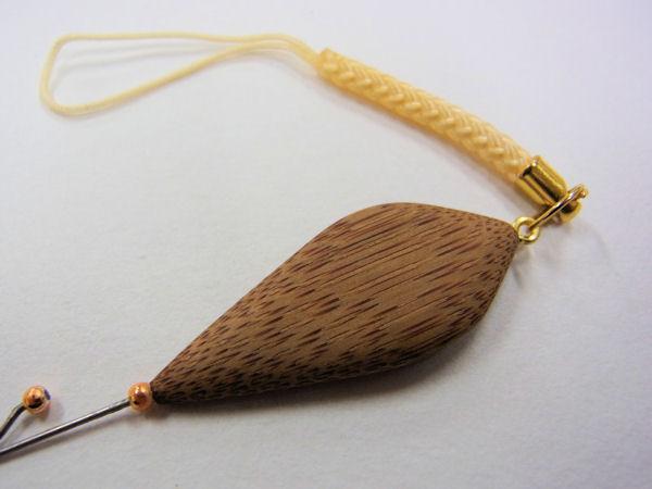 画像3: ベストフィッシング 手作りタナゴ用針外し(煤竹使用) 持ち手平形