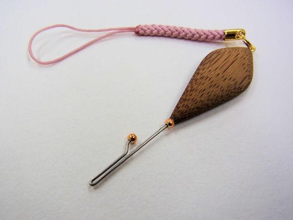 画像1: ベストフィッシング 手作りタナゴ用針外し(煤竹使用) 持ち手平形