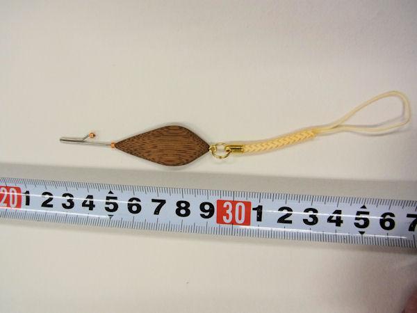 画像4: ベストフィッシング 手作りタナゴ用針外し(煤竹使用) 持ち手平形