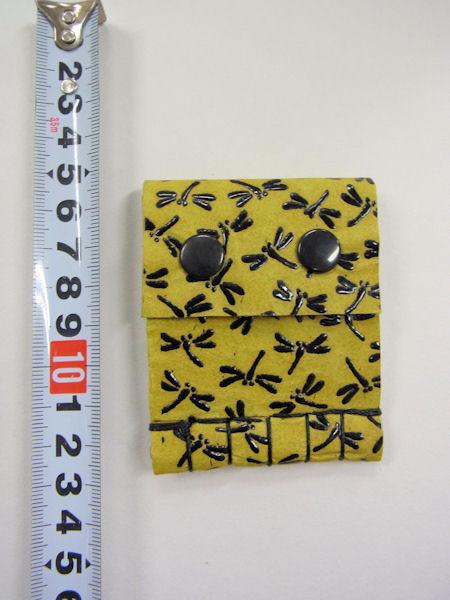 画像5: ベストフィッシングオリジナル 鹿革 印伝 漆 トンボ柄 タナゴ用針ケース