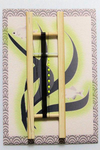 画像1: 新作ポン太工房オリジナルPEラインシモリ仕掛け 蛍光イエロー 1、5m