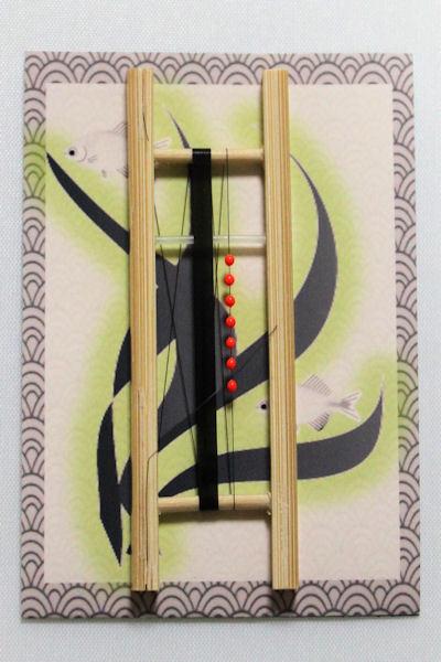画像1: 新作ポン太工房オリジナルPEラインシモリ仕掛け 蛍光レッド 1m