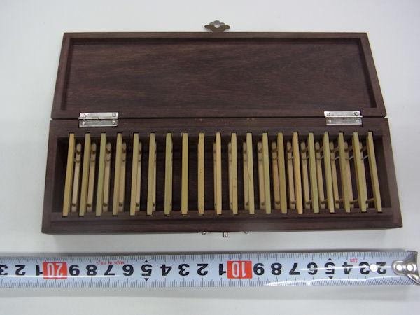画像4: ローズウッド使用 仕掛け入れ  真竹仕掛け巻き20個入り  無塗装
