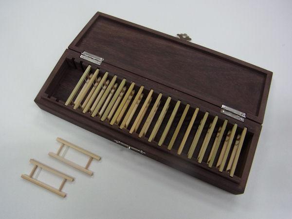 画像3: ローズウッド使用 仕掛け入れ  真竹仕掛け巻き20個入り  無塗装