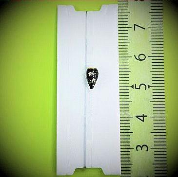 画像1: 新作ポン太工房プロトタイプの中通し浮き仕掛け 山吹 スーパーホワイト(トップ)/黒(ボディ) モノスレッドスモーク