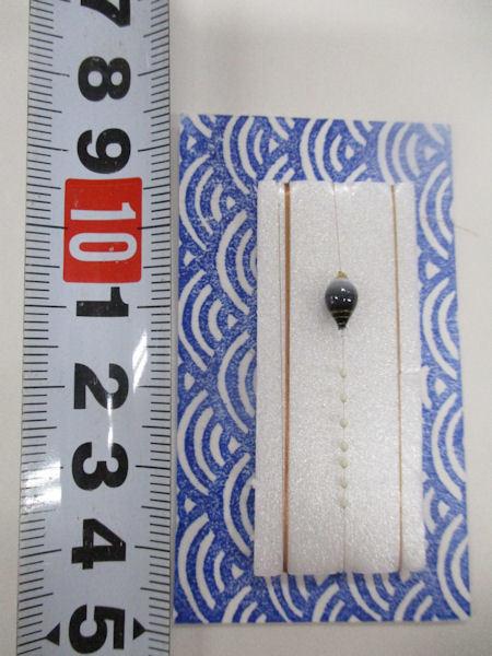 画像3: 手作りバラタナゴ釣り用 極小彩真ん中通し仕掛け ライングラデーション白紫 モノスレッドSブラウン山吹