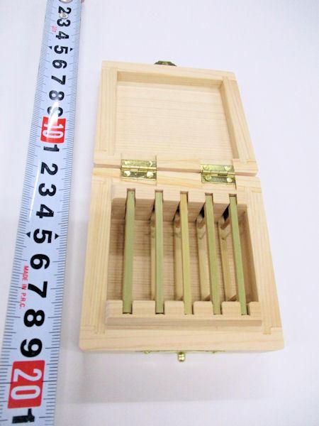 画像4: 限定品!総木曽檜材使用 無塗装 仕掛け入れ 真竹仕掛け巻き5本入り