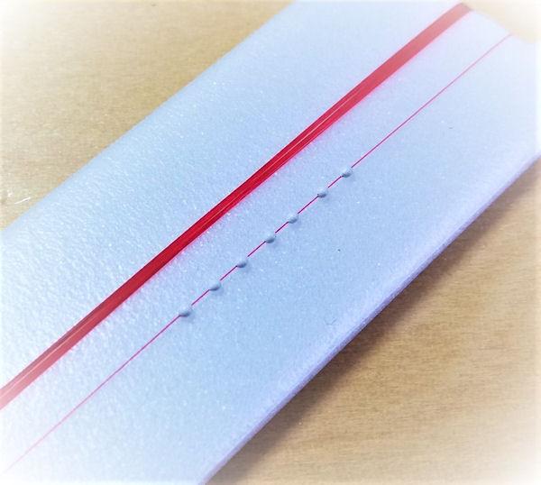 画像1: 新作ポン太工房オリジナル TMC モノスレッド S シモリ仕掛け(1.2m)スーパーホワイト