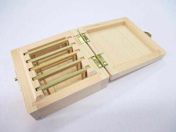 画像2: 感謝価格!総木曽檜材使用 無塗装 仕掛け入れ 真竹仕掛け巻き5本入り