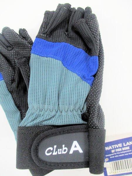 画像2: NATIVE LAND フィッシンググローブ clubA ブルー