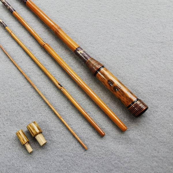 画像4: ポン太工房オリジナル和竿 矢竹 全長57cm 4本継