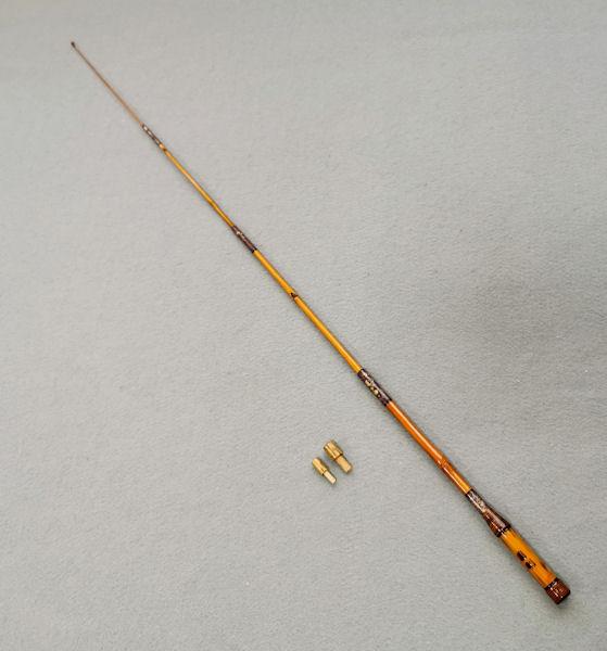 画像5: ポン太工房オリジナル和竿 矢竹 全長58cm 4本継