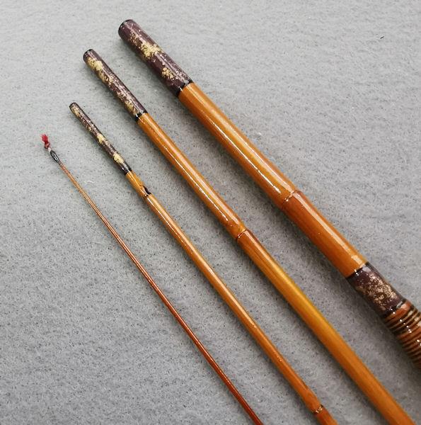 画像3: ポン太工房オリジナル和竿 矢竹 全長58cm 4本継