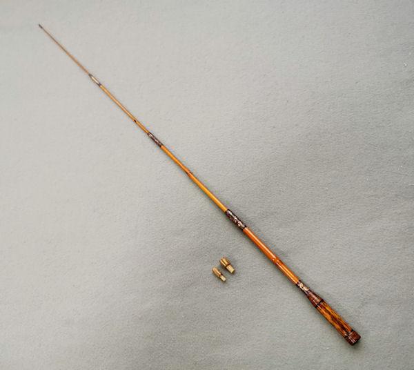 画像5: ポン太工房オリジナル和竿 矢竹 全長57cm 4本継